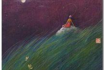 fairy tale illustration  / gaelle boissonard