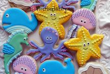 Fun cookies and cakes