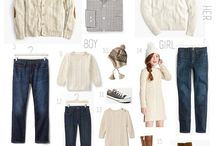 Style Guide: Family / Don't know what to wear to your family shoot? Well here is a whole board made to help you figure it out. #familyphotoshoot #familystyleguide #styleguide #thekoco