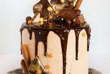 Drippy cake