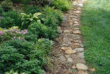 Gardeborders / Бордюры из камня, дерева, растений и цветов