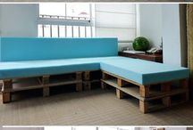 Pallet Furniture Ideas / Ideas for our new home