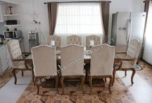 Set Kursi Makan Antik ( Antique Dining Room Furniture )