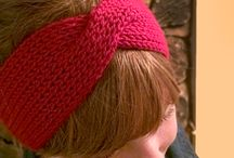 Knitted ear warmer/headband pattern