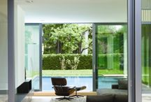 Sliding Glass Doors / Sliding doors are ideal for large openings and are available in many finishes and colours.