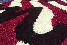 Diada de Corpus de #laGarriga / Festa de #lagarriga al #vallesoriental #catalunya catifes de  #flors #flores #flowers  www.lagarriga.cat
