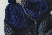 вязание снуд шапки шарфы