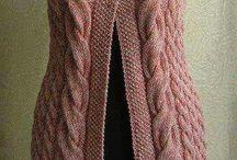 взрослое вязание спицами