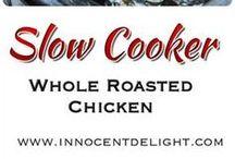 Whole Chicken Crockpot