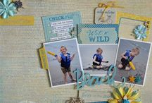 Authentique Seasons Summer layouts