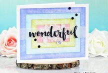 My card making: HoneyBee Stamps