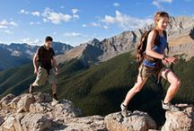 Hiking  / The best way to experience all of the Rockies, from the lakeside shores to mountain peaks.
