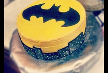 Batman party cake