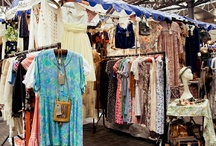 Vintage  / Judy's Affordable Vintage Fair takes place at Old Spitalfields Market on the First Saturday of every month from 11am - 5pm.