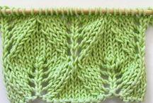 Points tricot et crochet