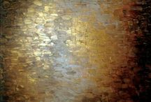 Black and Gold / Black and Gold paintings and photo shoots