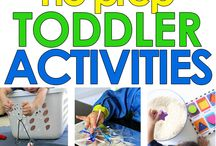 Toddler activities / Toddler activities, indoor and outdoor fun for little kids