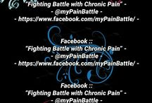 """Join My Facebook Blog / Like / Follow me on Facebook please """"Fighting Battle with Chronic Pain"""" -   - @myPainBattle -  - https://www.facebook.com/myPainBattle/ -"""