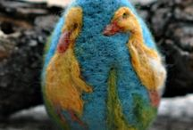 Collectibles Needle Felted Art : Animals, Decorative  / by judysnow