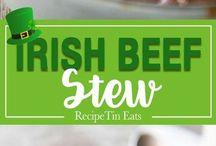 Irish guineas stew