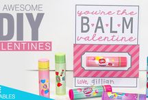 DIY Valentine Ideas / Add a cute and personal touch to each of your Valetine's Day cards by creating them yourself using some of these DIY ideas!