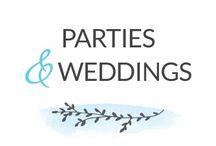 Parties & Weddings / party. wedding. parties. reception. party ideas. wedding reception. party food. party decor. birthday. anniversary. marriage. bridal party. wedding party. celebration. event. wedding planning.