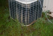 AC Unit with fan