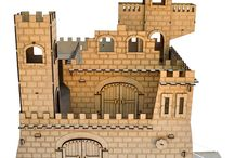 Houses and Castles / Doll houses for girls and castles for boys