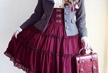 Modern Costume Steampunk/Victorian/Gothic Modest Outfits / by Nathalie Fernando