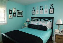 Turquoise room ideas / by LadiiL254