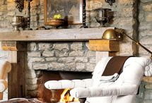RUSTIC & COZY! / Second Home Ideas!