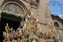 AR Exorno floral para salidas procesionales // Floral design for pilgrimage and Holly Week parades