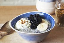 "riseNshine / Healthy ways to ""break the fast"" and clean eating snacks and yums. / by Lisa Davis"