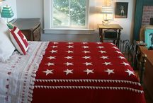 Quilts - QOV & Patriotic / Red, white and blue