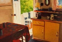 Paintings of Interiors that Inspire