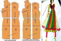 Indian fashion patterns