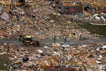 Wooden houses or stick homes and tornadoes and huricanes / American wooden houses destroyed after tornadoes - stick built housing