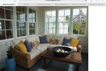 Veranda decor / Ideas for the patio