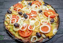 Pasta & Pizza / Einfache, vegane Rezepte größtenteils mit Zutaten, die man in jedem Supermarkt finden kann