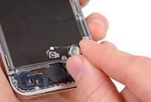 Hvordan bytte iPhone 4S hjemknappens flatkabel