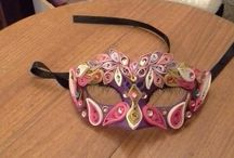 Quilling Mask