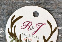 Etiquetas y packaging / Tus obsequios serán aún más bonitos con estas etiquetas! www.eventosilustrados.com