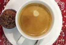 Café Brigaderia – Shopping Market Place / Uma pausa para um rápido café e o local escolhido foi a Brigaderia do Shopping Market Place.  Escolher o café e o cappuccino foi fácil, difícil mesmo é saber o que escolher entre as opções de brigadeiro.