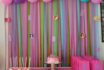birthday party deco