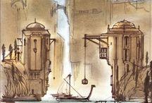 TES IV: Oblivion - Concept Arts / Concept Art and design from The Elder Scrolls IV: Oblivion
