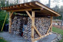 miejsce na drewno
