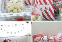 Birthday Party Ideas - Fireman