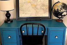 Art Furniture Desks and Dressers / by Julianne Terrell