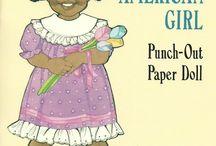 Paper Dolls - Dover Little Activity Books / Dover Little Activity Books