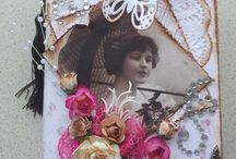 Handmade Cards / All different types of designs using various types of materials and items. / by Mary Stearnes